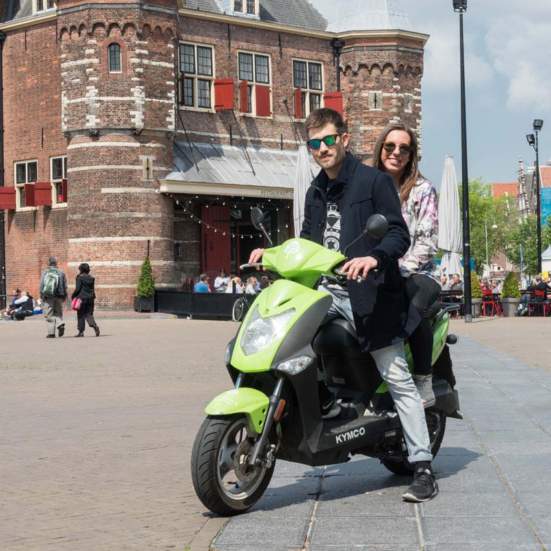 Green Budget Bike - Scooter