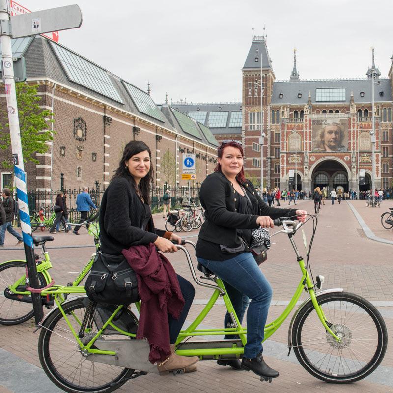 Green Budget Bike - Tandem
